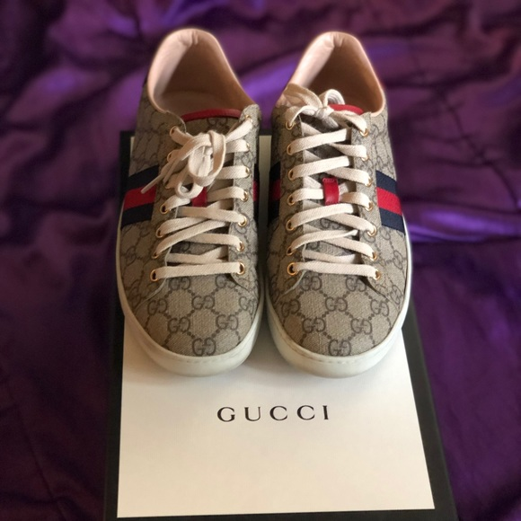 Gucci Shoes | Womens Ace Gg Supreme